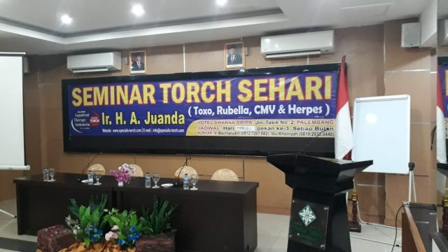 seminar torch dan solusinya di palembang 17 november 2019