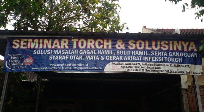 [Foto] Seminar TORCH dan Solusinya di Tasikmalaya 03 November 2019