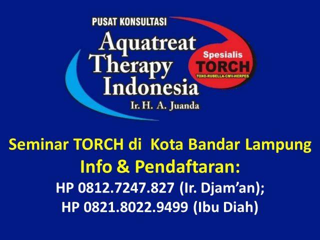 Seminar TORCH di Bandar Lampung