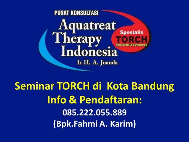 Seminar TORCH di Bandung