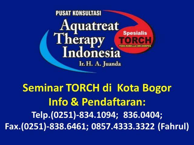 Seminar TORCH di Bogor