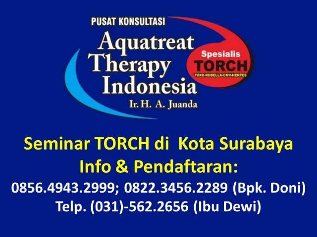 Seminar TORCH di Surabaya