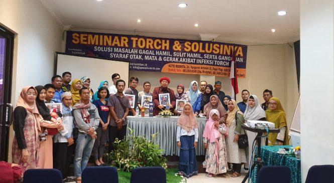 [Foto] Seminar TORCH dan Solusinya di Banjarmasin 24 November 2019