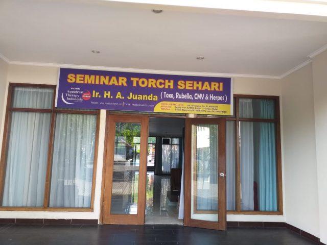 seminar torch dan solusinya di mataram 01 desember 2019