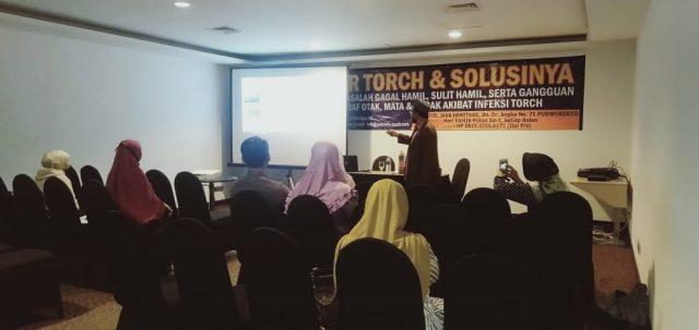 seminar torch dan solusinya di purwoerto 05 desember 2019