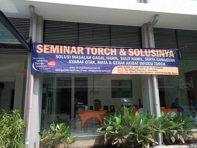 seminar torch dan solusinya di semarang 08 desember 2019