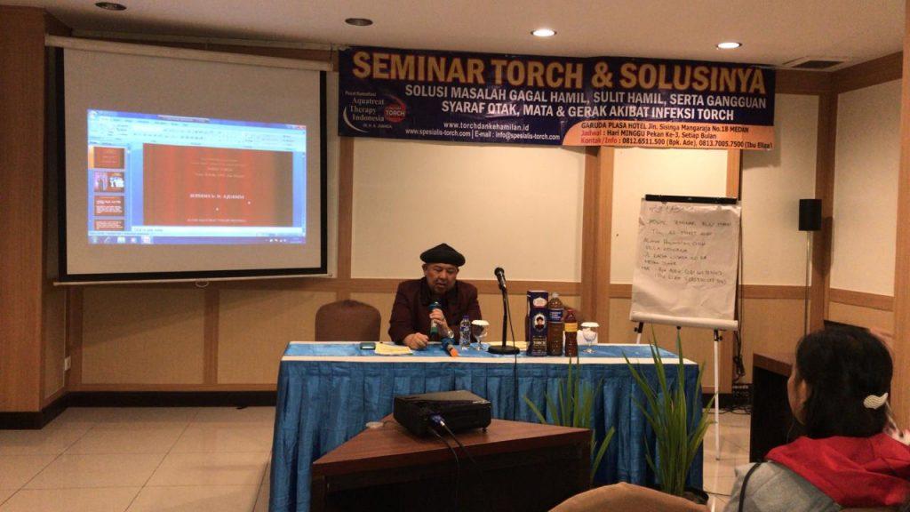 Seminar TORCH dan Solusinya di Medan 16 Februari 2020