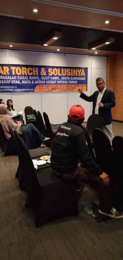 seminar torch dan solusinya di purwokerto 08 maret 2020