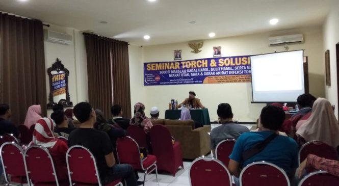 [Foto] Seminar TORCH dan Solusinya di Surabaya 29 Februari 2020