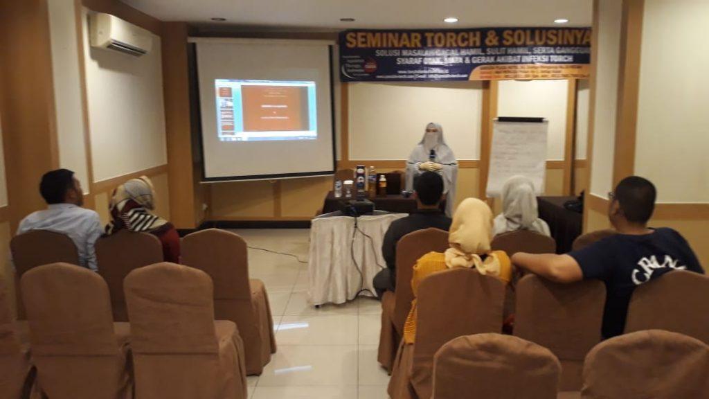 seminar torch dan solusinya di medan 22 maret 2020
