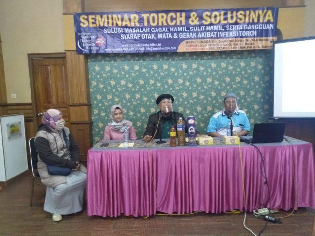 seminar torch dan solusinya di bandung 12 juli 2020