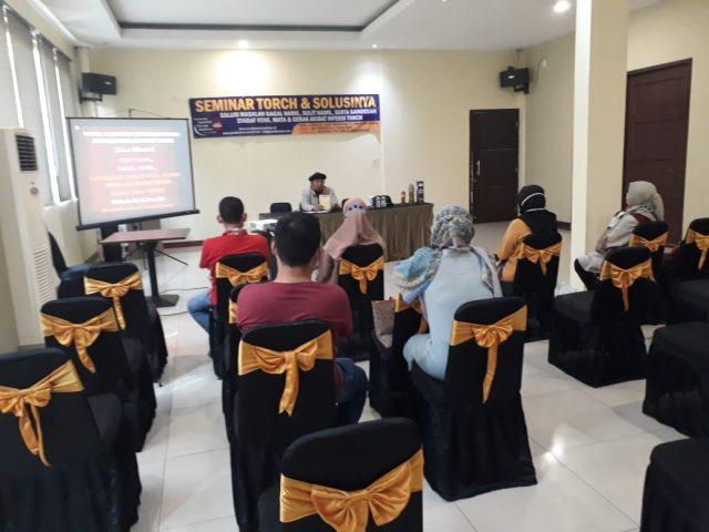 [Foto] Seminar Torch dan Solusinya di  Serang 16 Agustus 2020