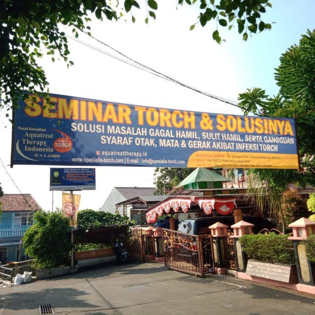 seminar torch dan solusinya di bogor 15 agustus 2020