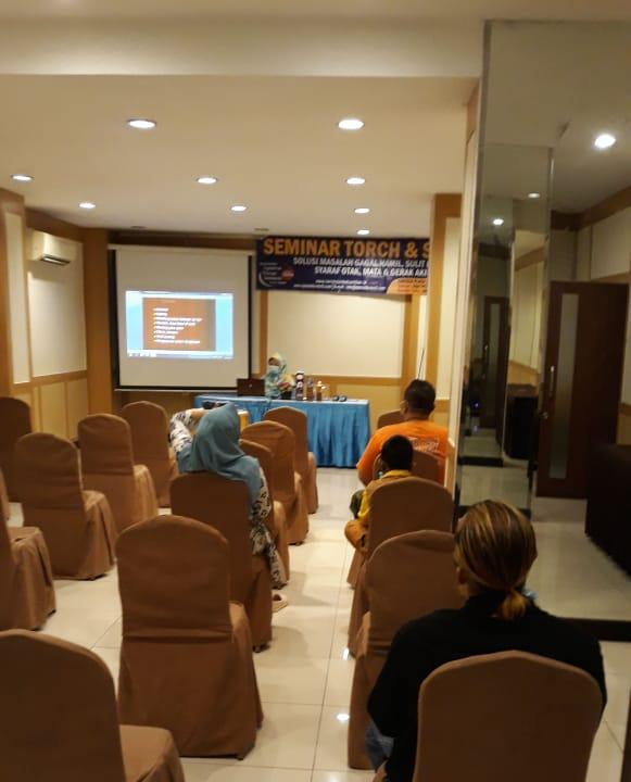 seminar torch dan solusinya di medan 20 september 2020