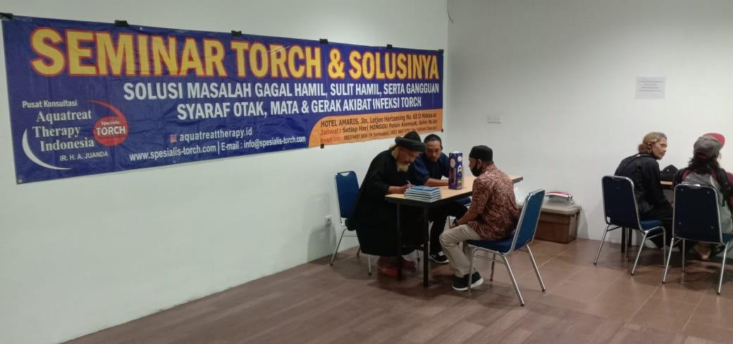 Seminar Torch dan Solusinya di Makassar 29 November 2020