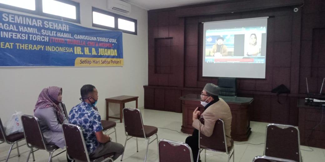 Seminar Torch dan Solusinya di Jogjakarta 09 Januari 2021
