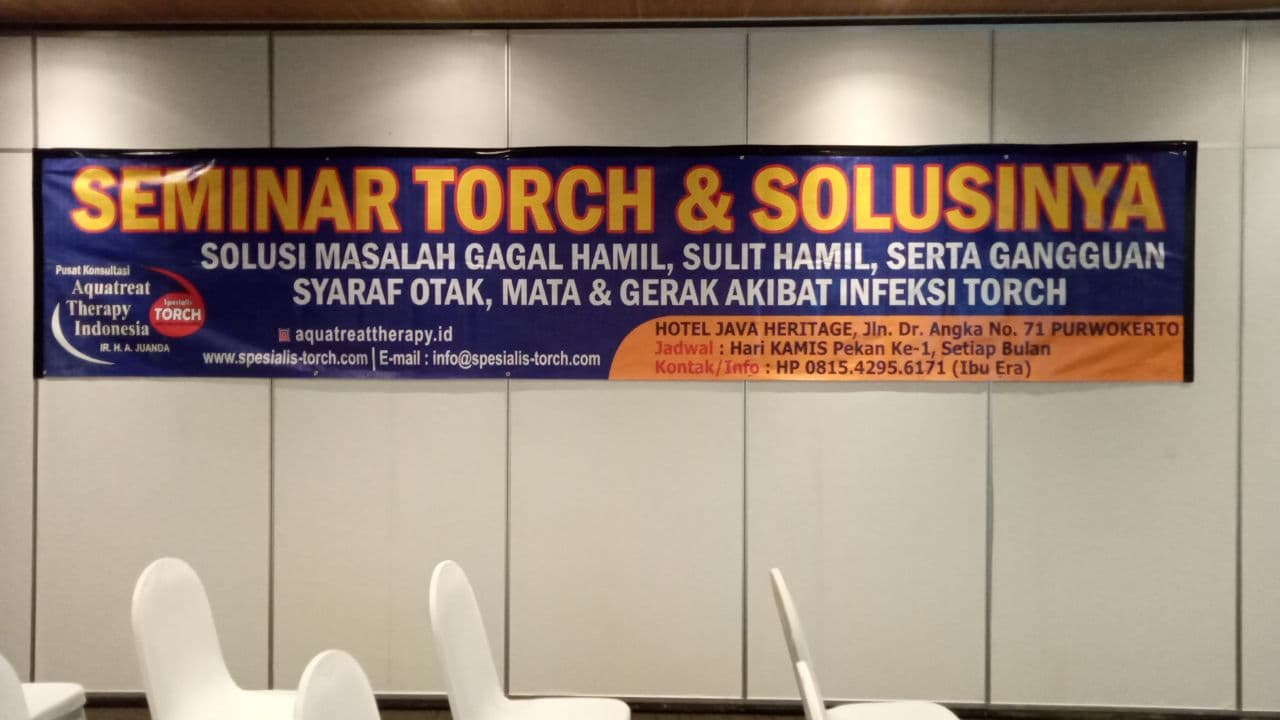 Seminar Torch dan Solusinya di Purwokerto 04 April 2021