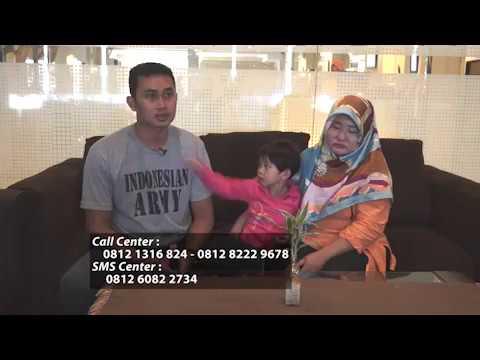 [Video] Testimoni Ibu Ervina yang Bebas TORCH dan Mempunyai Anak