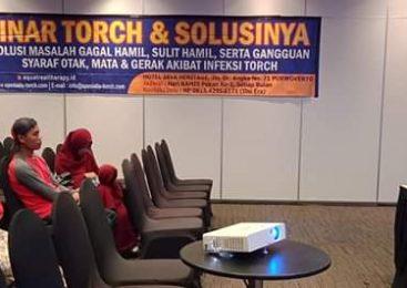 [Foto] Seminar TORCH dan Solusinya di Purwokerto 02 Januari 2020