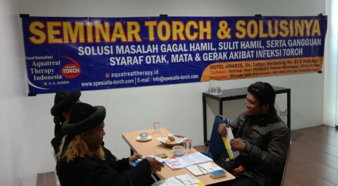 [Foto] Seminar TORCH dan Solusinya di Makassar 23 Februari 2020
