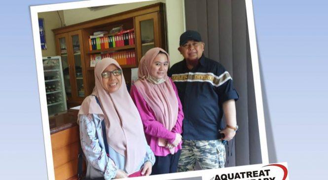 Hazrina Syahdan: Gangguan Mata Akibat Torch (Papilitis Optic Neuritis), Alhamdulillah Sembuh Dengan Aquatreat Therapy.