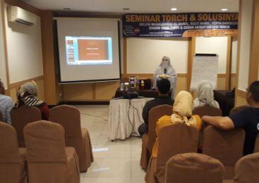 [Foto] Seminar TORCH dan Solusinya di Medan 22 Maret 2020